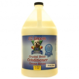 Кондиционер с усилителем цвета (концентрат 1:8) EZ-Groom Crystal Brite, 3.8л