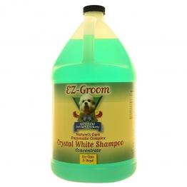 Шампунь для белой шерсти (концентрат 1:8)EZ-Groom  Crystal White Enzyme, 3.8л
