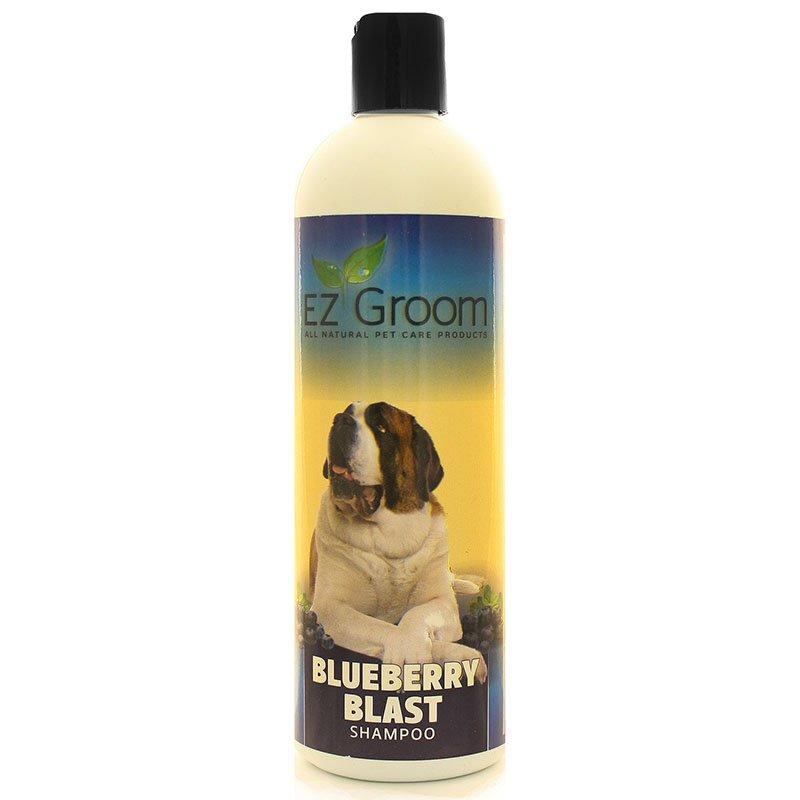 Шампунь с ароматом черники (концентрат 1:24) EZ-Groom Blueberry Blast, 473мл