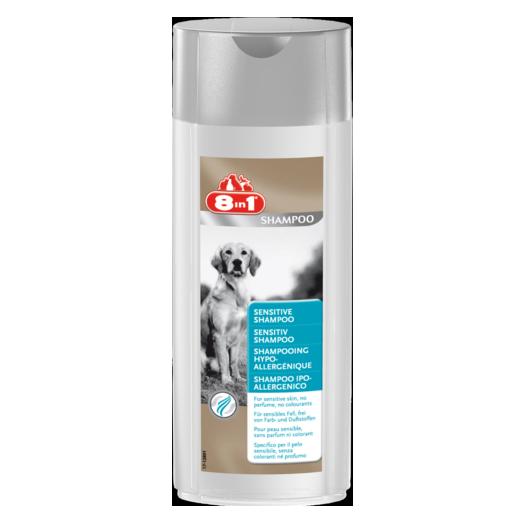 Шампунь для собак, для чувуствительной кожи 8in1 Sensitive, 250мл