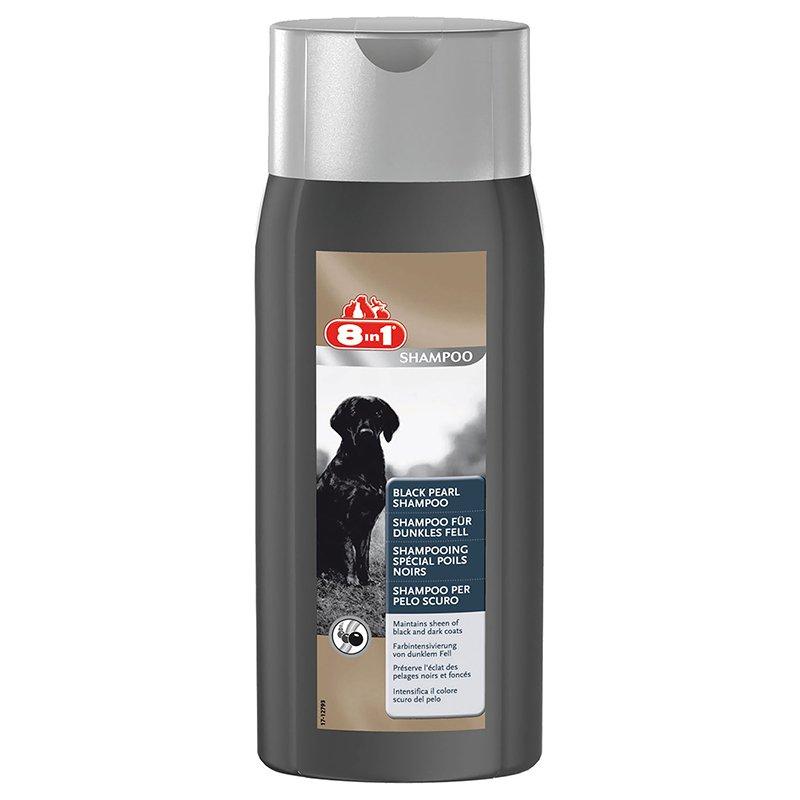 Шампунь для собак, для темной шерсти 8in1 Black Pearl, 250мл