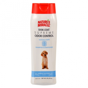 Шампунь для щенков 8in1 Natures Miracle Puppy, 473мл