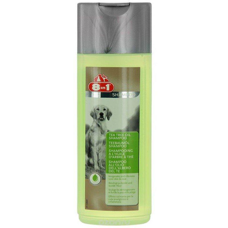 Шампунь для собак и щенков 8in1 Tea Tree Oil, 250мл