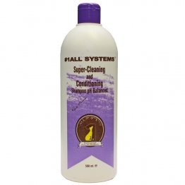 1 All Systems Шампунь Super cleaning & conditioning Shampoo, 500мл