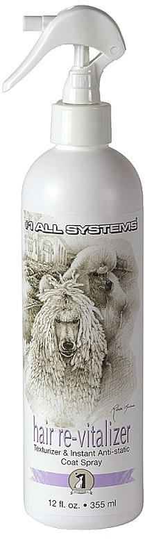 Восстановитель шерсти с антистатиком 1 All Systems Hair Revitalaizer Anti-Static, 355мл