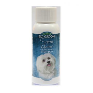 Шампунь для светлой шерсти (концентрат 1:4) Bio-Groom Super White, 59мл
