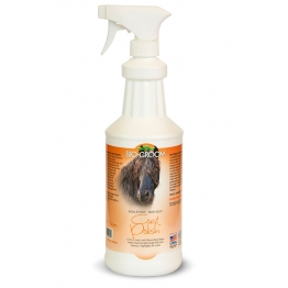 Спрей-блеск антиколтун для лошадей, Bio-Groom Coat Polish Horse, 946 мл