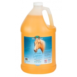 Шампунь для лошадей, с ланолином (концентрат 1:4), Bio-Groom Golden Sheen, 3.8л