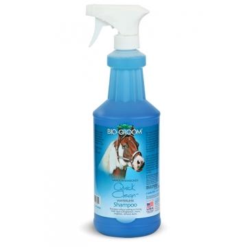 Шампунь для лошадей, без смывания, Bio-Groom Quick-Clean, 946мл
