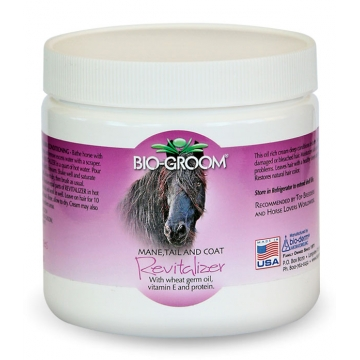 Кондиционер-крем для лошадей, восстанавливающий, Bio-Groom Revitalizer, 454гр