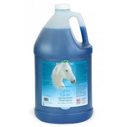 Шампунь для лошадей с белой шерстью (концентрат 1:4), Bio-Groom Show White, 3.8л