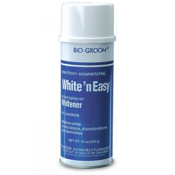 Отбеливащий спрей для шерсти лошадей, Bio-Groom White'n Easy, 284гр