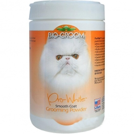 Пудра для мягкой шерсти Bio-Groom Pro-White Smooth, 170гр