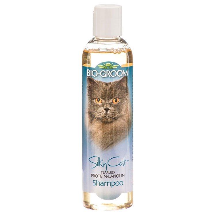 Шампунь для кошек с протеином и ланолином Bio-Groom Silky Cat, 236мл