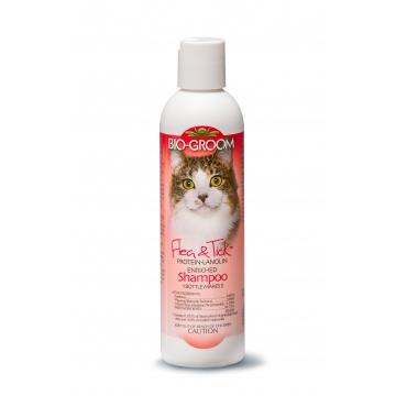 Шампунь для кошек от блох (концентрат 1:5) Bio-Groom Flea & Tick Cat, 236мл
