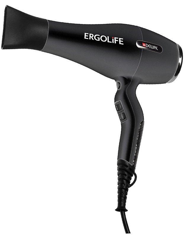 Фен Dewal ErgoLife 03-001, чёрный, 2200 Вт