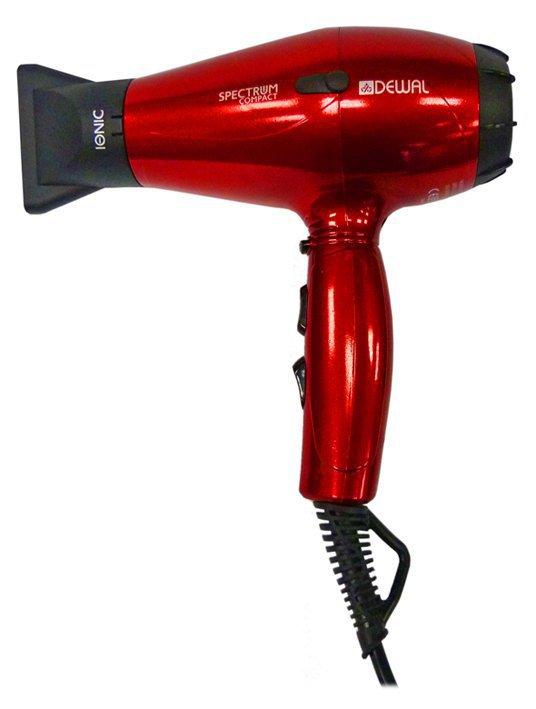 Фен Dewal Spectrum Compact 03-109, красный, 2000Вт