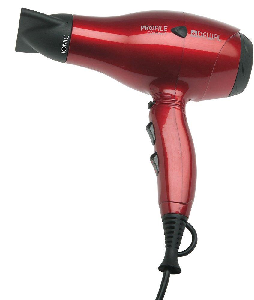 Фен Dewal Profile Compact 03-119, красный, 2000 Вт
