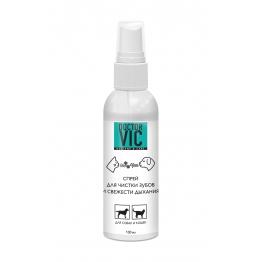 Спрей для чистки зубов и свежести дыхания Doctor VIC, 100мл