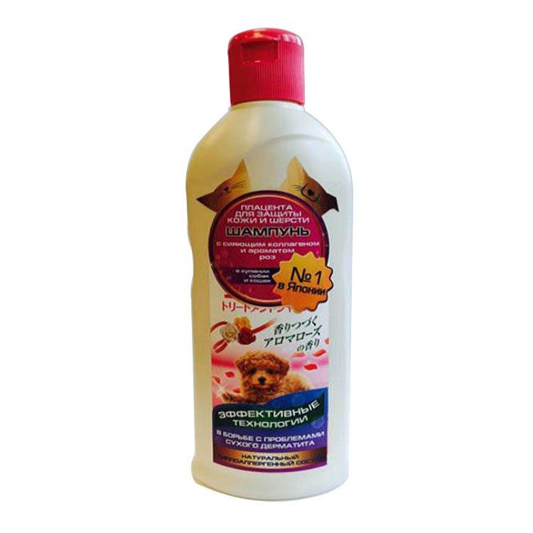 Шампунь с плацентой и коллагеном 2 в 1, с ароматом детского мыла DoggyMan, 350мл
