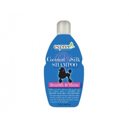 Шампунь с протеинами шелка (концентрат 1:8) Espree Coconut Oil + Silk Shampoo, 500мл