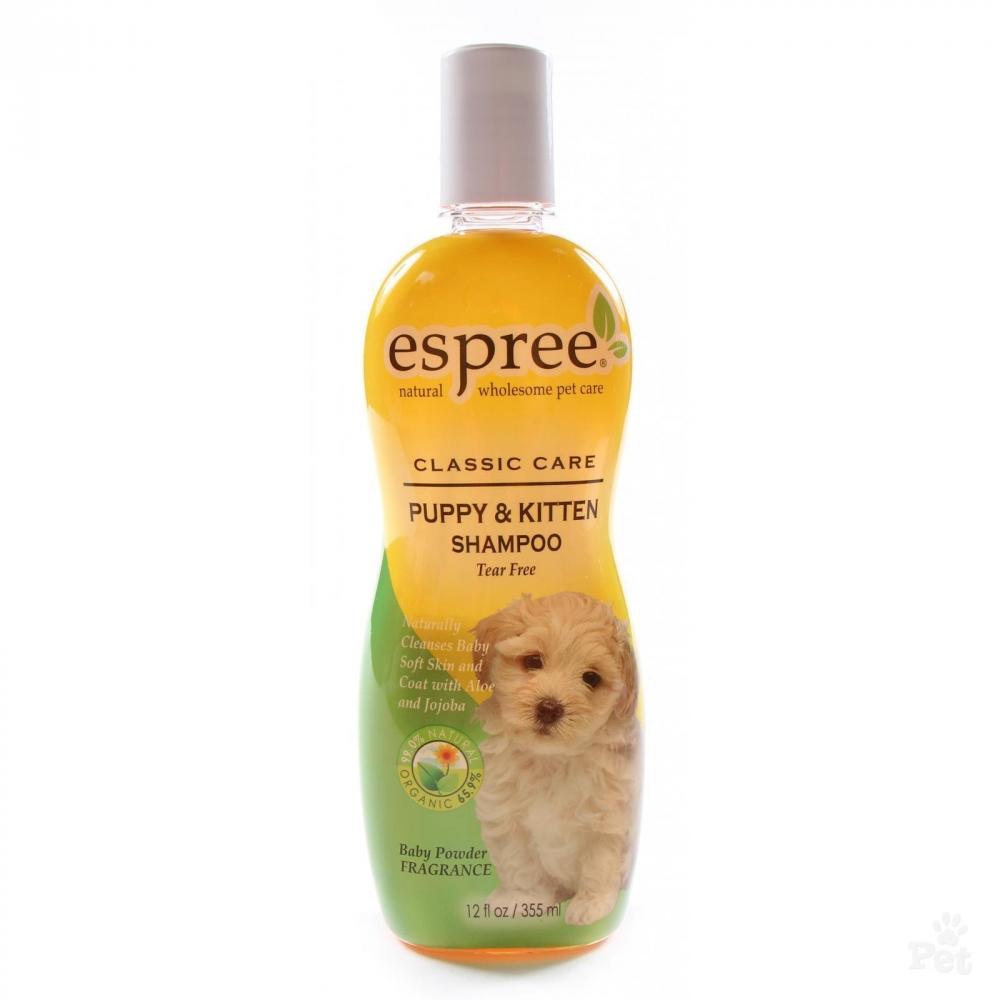 Шампунь для щенков и котят (концентрат 1:16) Espree Puppy & Kitten, 355мл