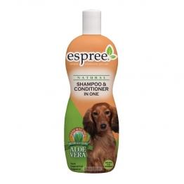 Шампунь+кондиционер (концентрат 1:16) Espree Shampoo & Conditioner In One, 355мл