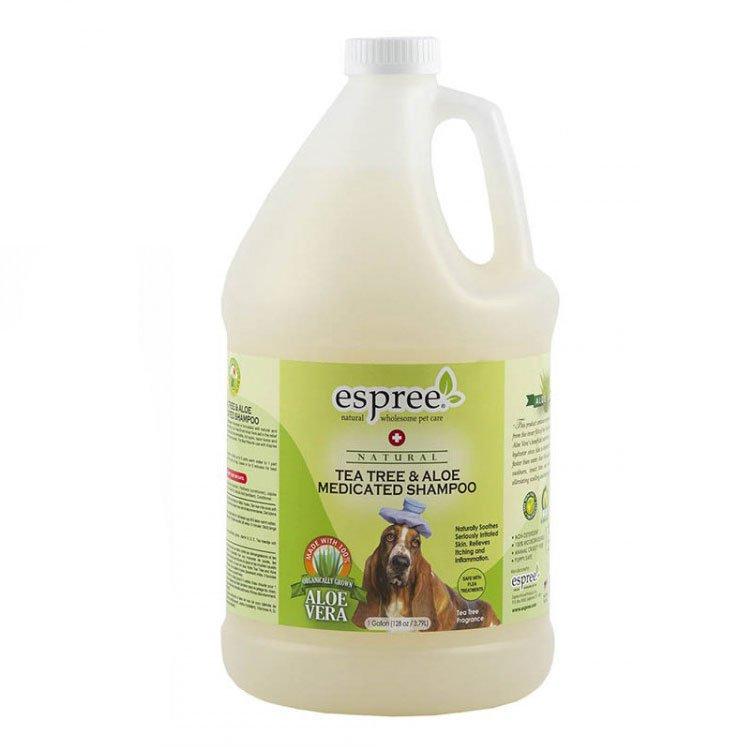 Шампунь с маслом чайного дерева (концентрат 1:5) Espree Tea Tree & Aloe, 3.8л