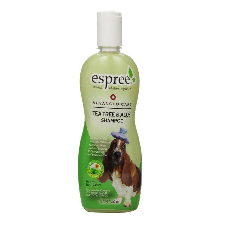 Шампунь с маслом чайного дерева (концентрат 1:5) Espree Tea Tree & Aloe, 355мл