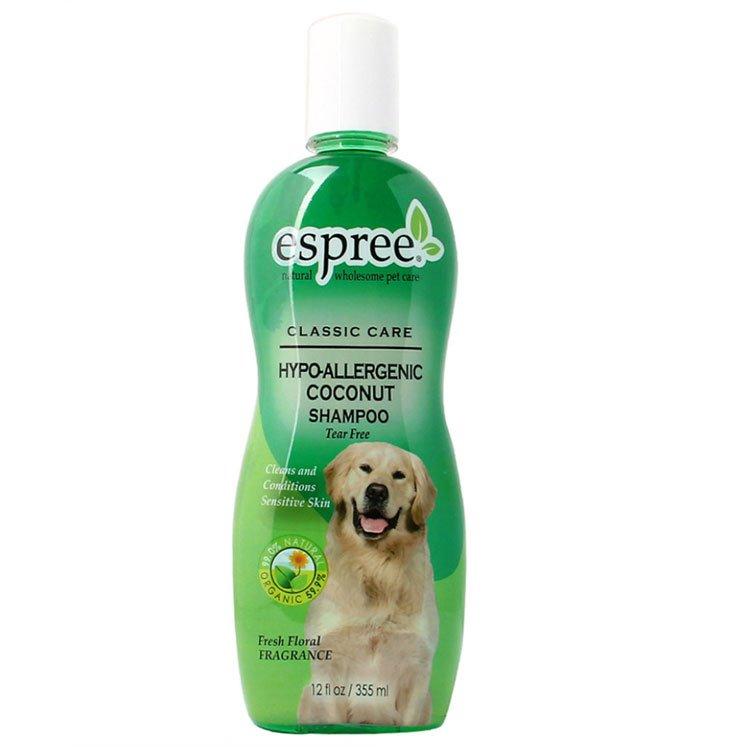 Гипоаллергенный шампунь для собак и кошек (концентрат 1:16) Espree Hypo-Allergenic, 355мл