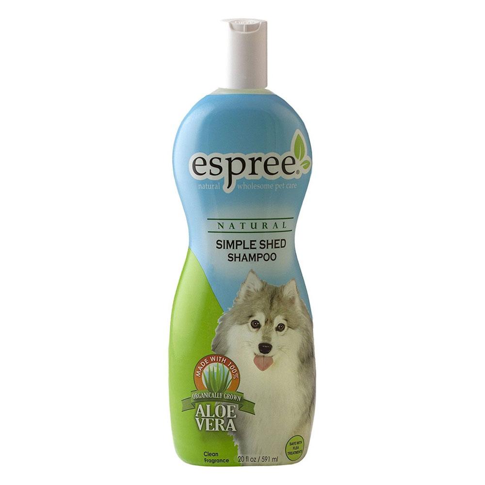 Средство для ухода за шерстью в период линьки, для собак и кошек, Simple Shed Treatment, 591мл