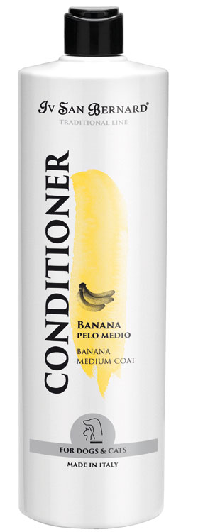 Кондиционер для шерсти собак Iv San Bernard Banana, 1л