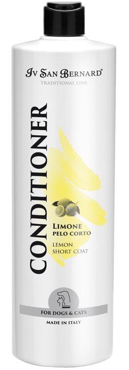 Кондиционер для гладкошерстных животных Iv San Bernard Lemon, 1л