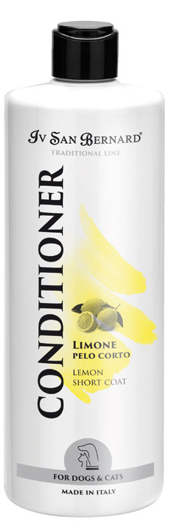 Кондиционер  для для короткой шерсти Iv San Bernard Lemon, 500мл