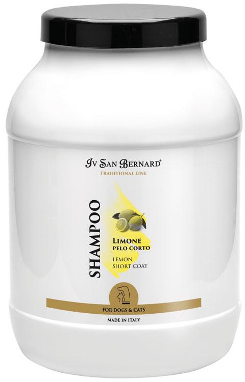 Шампунь для короткой шерсти (концентрат 1:5) Iv San Bernard Limone, 3л
