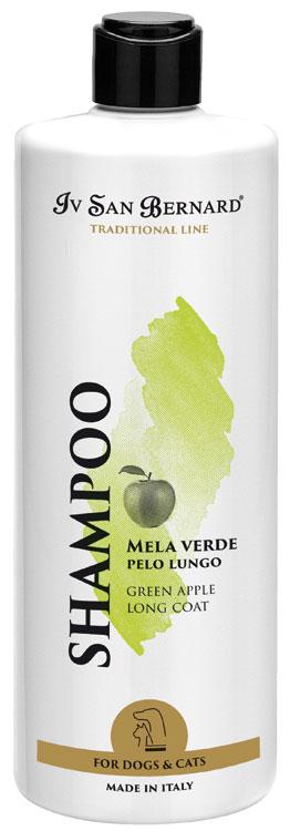 Шампунь для длинной шерсти (концентрат 1:5) Iv San Bernard Mela Verde, 500мл