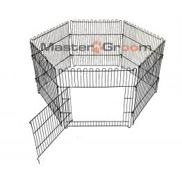 Вольер металлический 6-секций, с дверкой (60хh50), Mastergroom