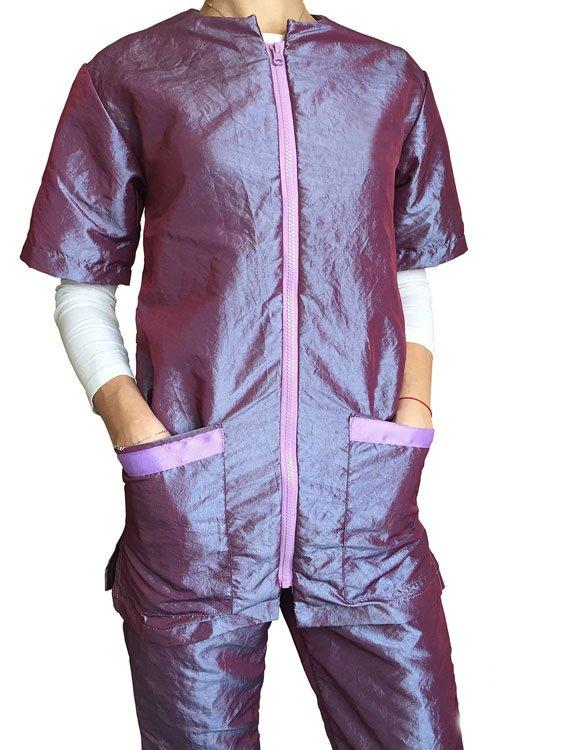 Блуза на молнии для грумера, MasterGroom, размер L