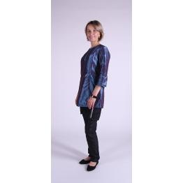 Блуза грумера, модель Diamond, голубая