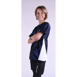 Блуза грумера, модель Sole, голубая