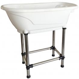 Ванна для груминга пластиковая, компактная MasterGroom H-115