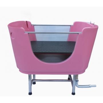 Ванна для груминга пластиковая, со стеклом MasterGroom H-116