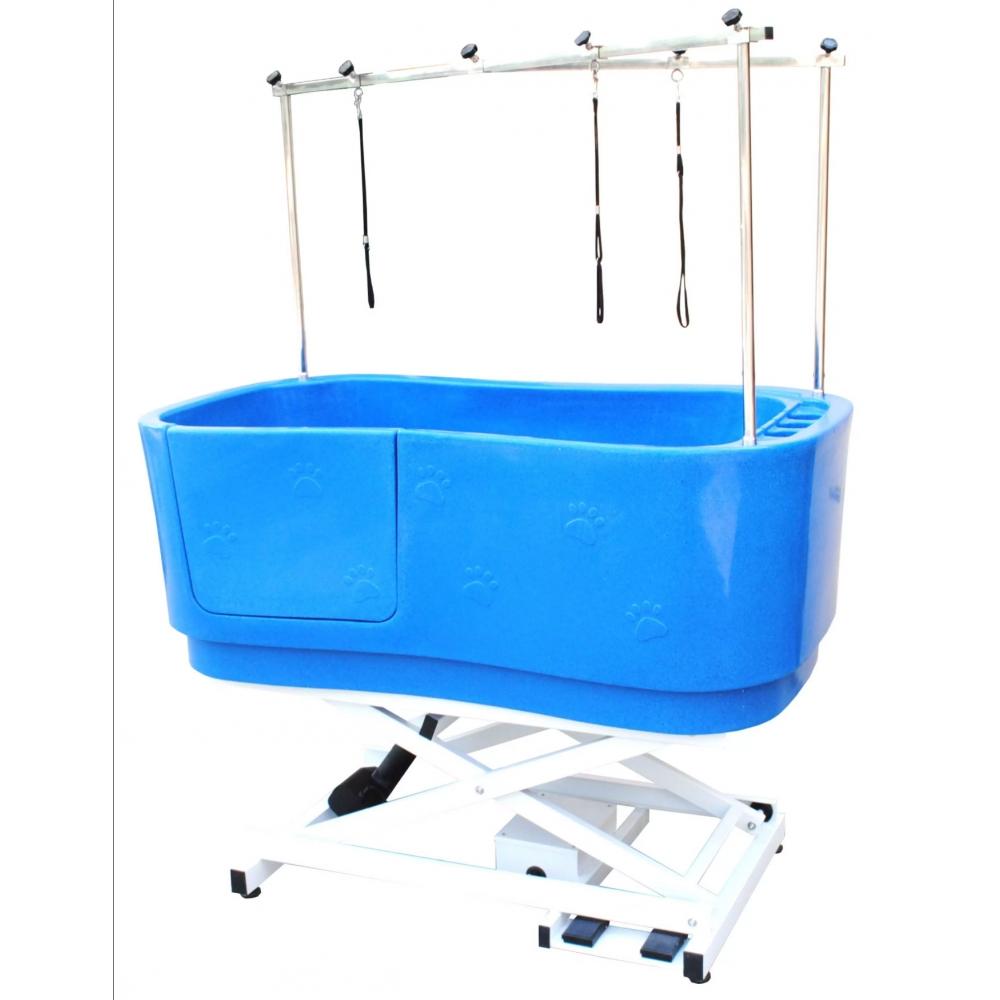 Ванна для груминга пластиковая с электроподъёмником