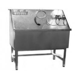 Ванна для груминга MasterGroom большая металлическая (нержавейка)