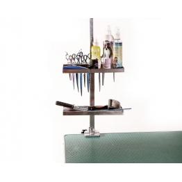 Органайзер на держатель для груминга (нержавеющая сталь)