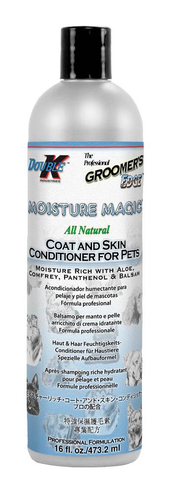 Кондиционер увлажняющий для сухой шерсти (концентрат 1:4) Groomers Edge MOISTURE MAGIC, 473мл