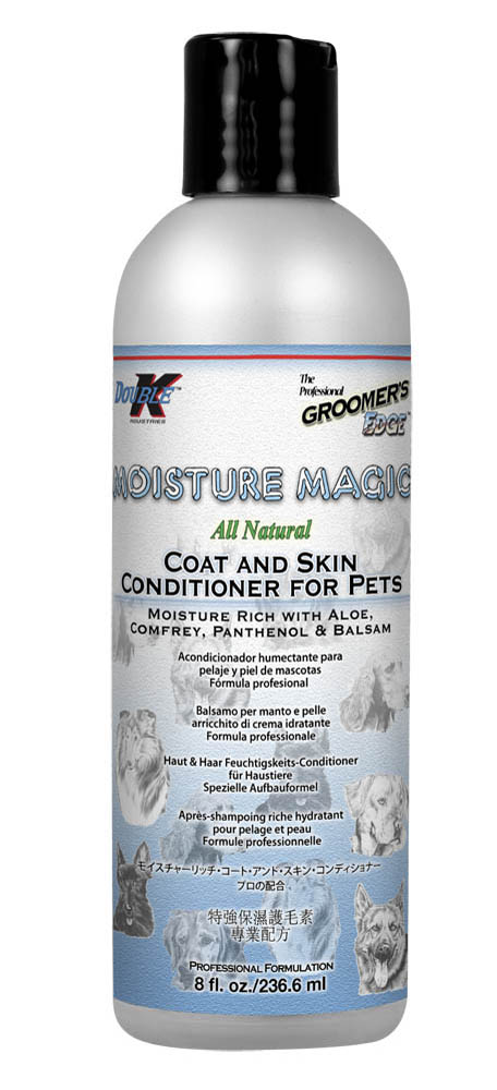 Кондиционер увлажняющий для сухой шерсти (концентрат 1:4) Groomers Edge MOISTURE MAGIC, 237мл