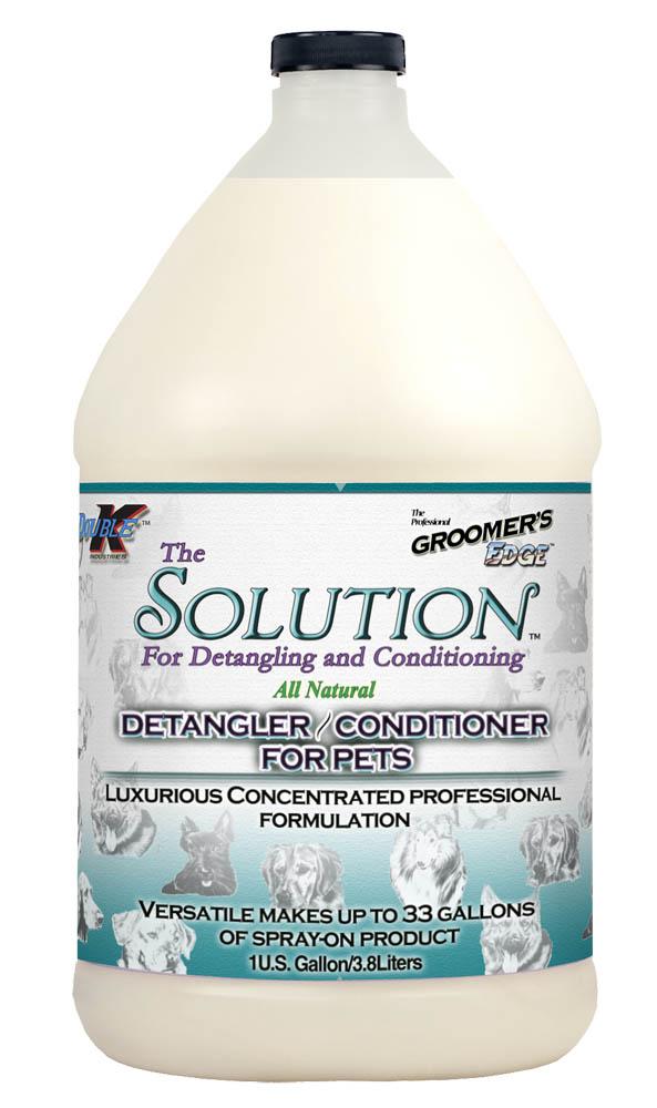 Кондиционер, многоцелевой (концентрат 1:40) Groomers Edge THE SOLUTION, 3.8л