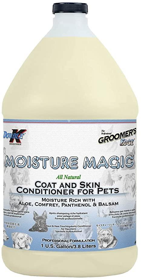 Кондиционер увлажняющий для сухой шерсти (концентрат 1:4) Groomers Edge MOISTURE MAGIC, 3.8л