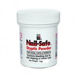 Кровоостанавливающая пудра PPP Nail-Safe Styptic Powder, 14гр